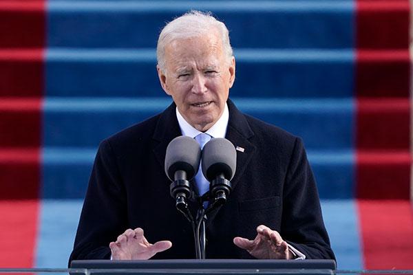 Peluncuran Administrasi Joe Biden di AS