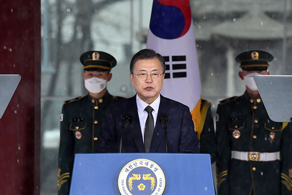 Pidato Presiden Moon dalam Upacara Peringatan Gerakan Kemerdekaan 1 Maret