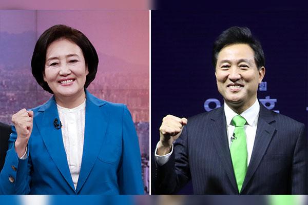 Wahlkampf für Nachwahlen zum Bürgermeister in Seoul und Busan gestartet