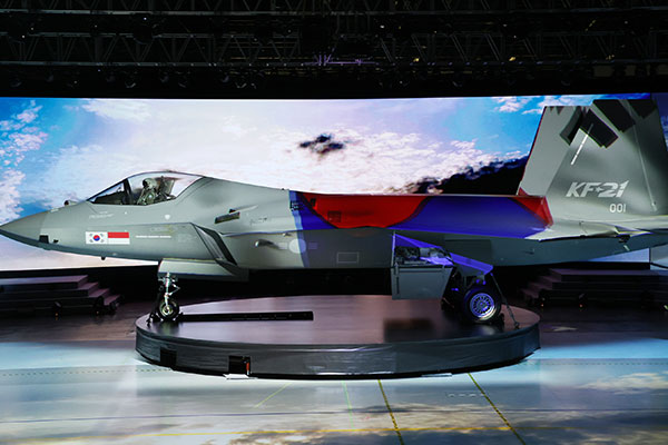 Pesawat Tempur Buatan Korsel yang Pertama Diumumkan