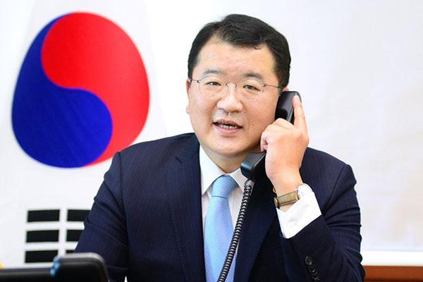 No. 2 Diplomats of S. Korea, US Hold Phone Talks
