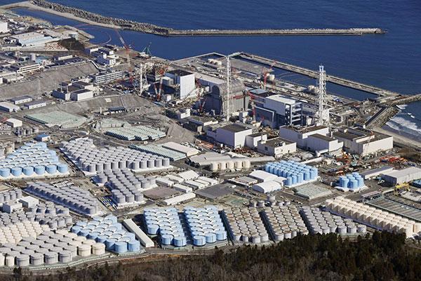 原発処理水の海洋放出を決定