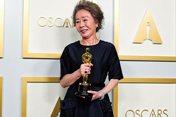 Youn Yuh-jung Takes Best Supporting Actress Oscar in History-making Night