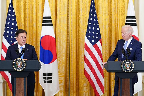 Präsident Moon von USA-Besuch zurückgekehrt