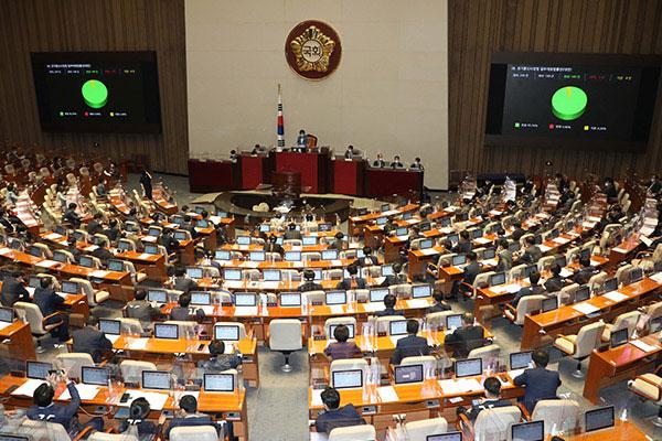 إقرار البرلمان الكوري القانون المضاد لغوغل