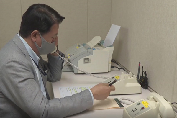 Koreas nehmen Kommunikationskanäle wieder in Betrieb
