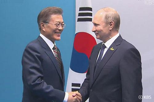 [정치] 文 대통령, 러 국빈방문…남북러 3각 협력 강조