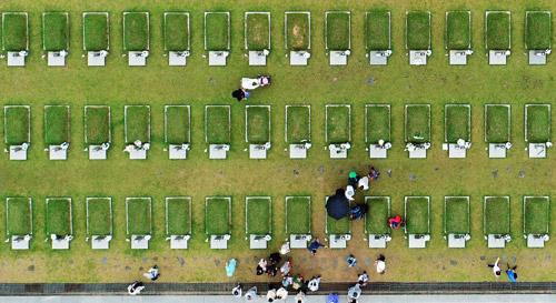Des visiteurs en nombre pour le 38e anniversaire du mouvement de Gwangju
