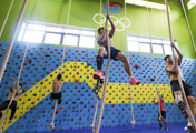 Athletes Train for Asian Games