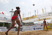 Tournoi de volley-ball à Daegu