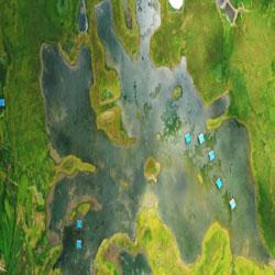 Reservoir Rises from Monsoon Rain