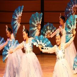 Beautiful Fan Dance