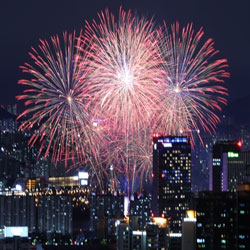 Bedazzling Fireworks
