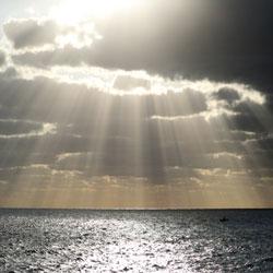 مشهد شروق الشمس