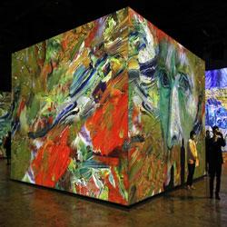 Van Gogh through Media Art