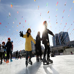 Trượt băng ở Gwangju