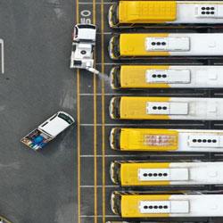 Дезинфекция автобусов