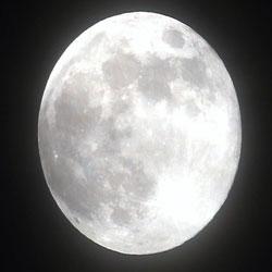 올해 가장 큰 달, 떠오른 슈퍼문
