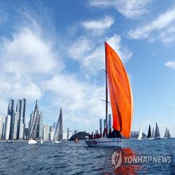 釜山帆船比赛