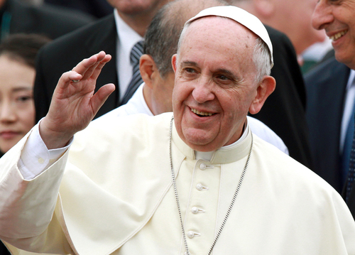 Greetings by Pope Francis