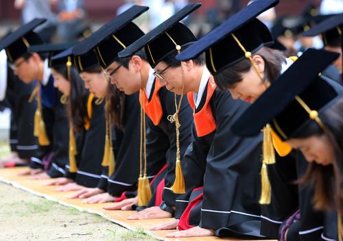 朝鮮王朝時代の卒業式「告由礼」