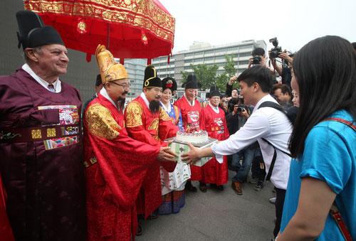 Feliz cumpleaños al Rey Sejong