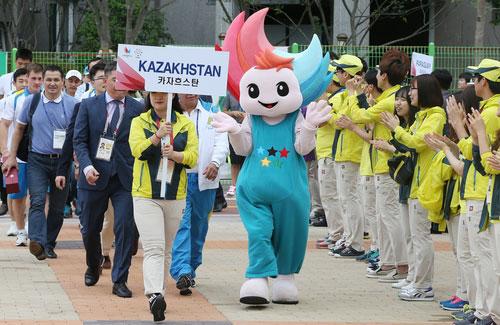 光州U大会 選手村に入村始まる
