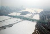 Salju Menutupi Seoul