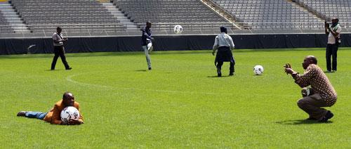 Một ngày làm cầu thủ bóng đá!