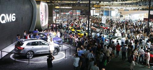 釜山国际汽车展拉开帷幕