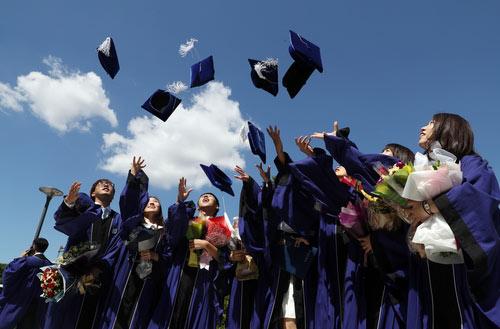 夏の卒業式