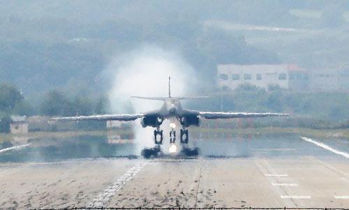 Pesawat B-1B Mendarat di Semenanjung Korea