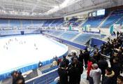 平昌オリンピックの新アイスアリーナがオープン