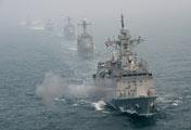 Первые военно-морские учения 2017 года