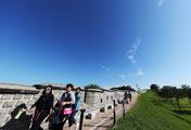 Promenade sur forteresse
