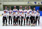 Speed Skaters in New Outfit