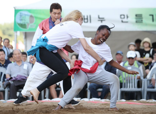 Korean Wrestling, Not Easy