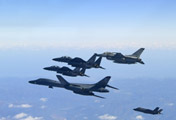 ​B-1B Lancer Bomber & Fighter Jets
