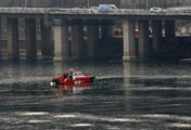 На реке Ханган появился лёд