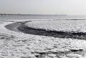 Замёрзший берег моря