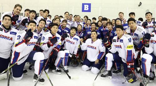 Cheers for Korean Ice Hockey