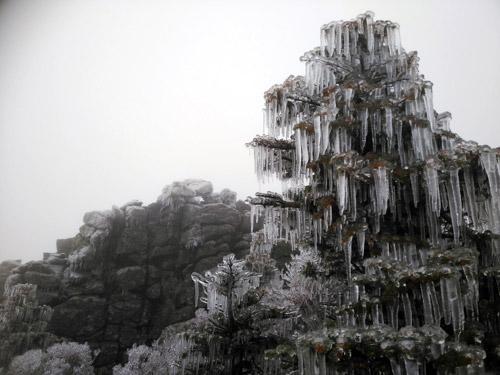 El invierno vuelve al monte Seorak