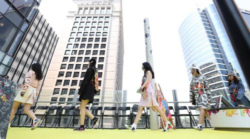 Desfile de moda en Seúl