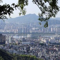 Ясное небо над Сеулом