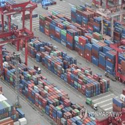 Cảng Busan chất đầy container