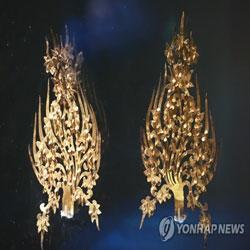 国宝「王妃の冠飾り」 武寧王陵特別展
