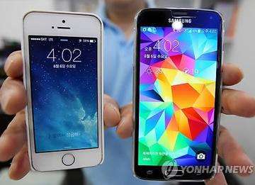 Samsung-Apple di urutan puncak penjualan telepon pintar