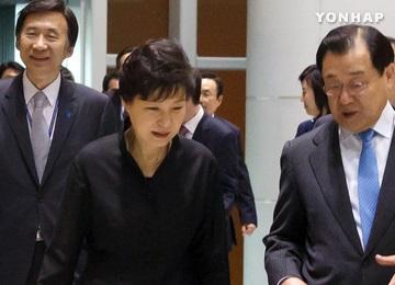 Встреча глав РК и Японии в Сингапуре