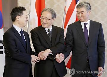 Atomunterhändler Südkoreas, Japans und der USA wollen über Nordkorea sprechen