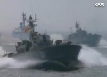 北韩在西海部署新型高速汽艇